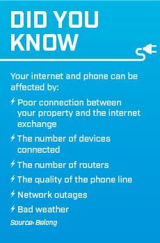 phone and data cabling safety tips